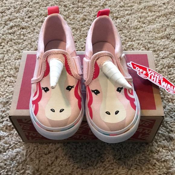 22fc27fed3 NWT Vans unicorn slip on sneaker